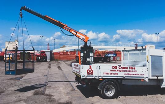 Truck Crane Hire